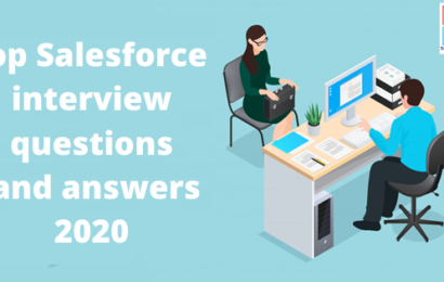 Top Salesforce interview questions and answers 2020
